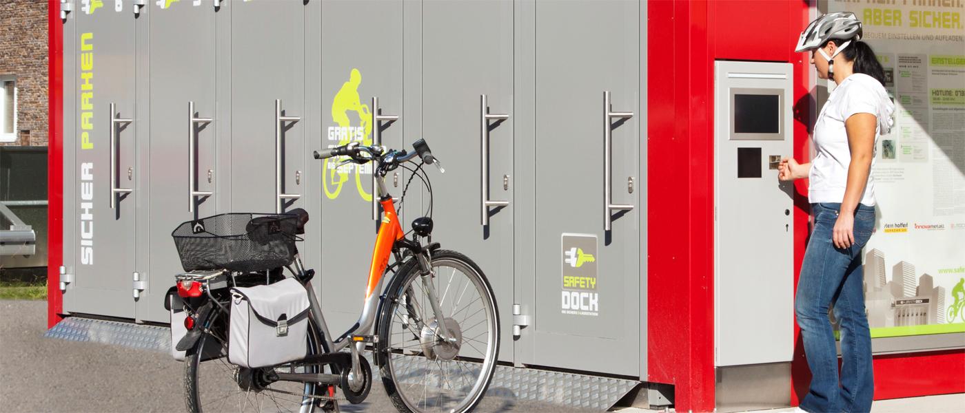 Fahrradparken & Stadtmobiliar