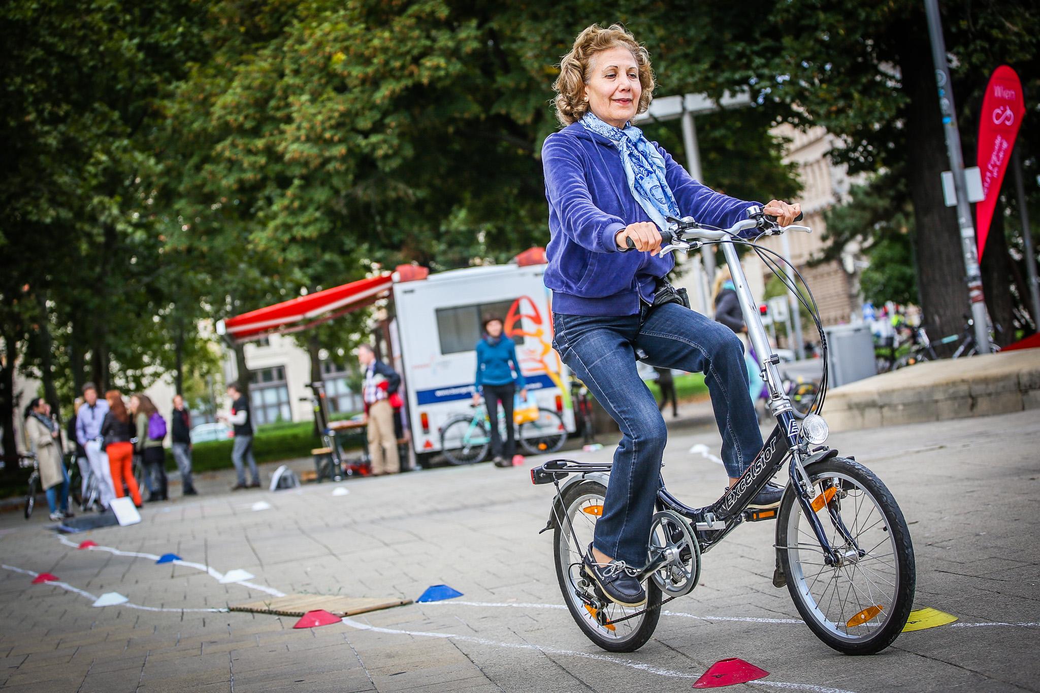 Mobilität per Fahrrad im hohen Alter