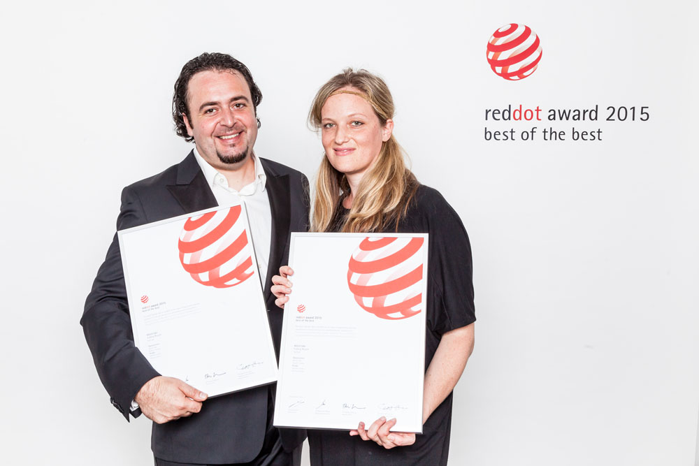 Red Dot Design Award 2015 for Cycle Competence Member VELLO!