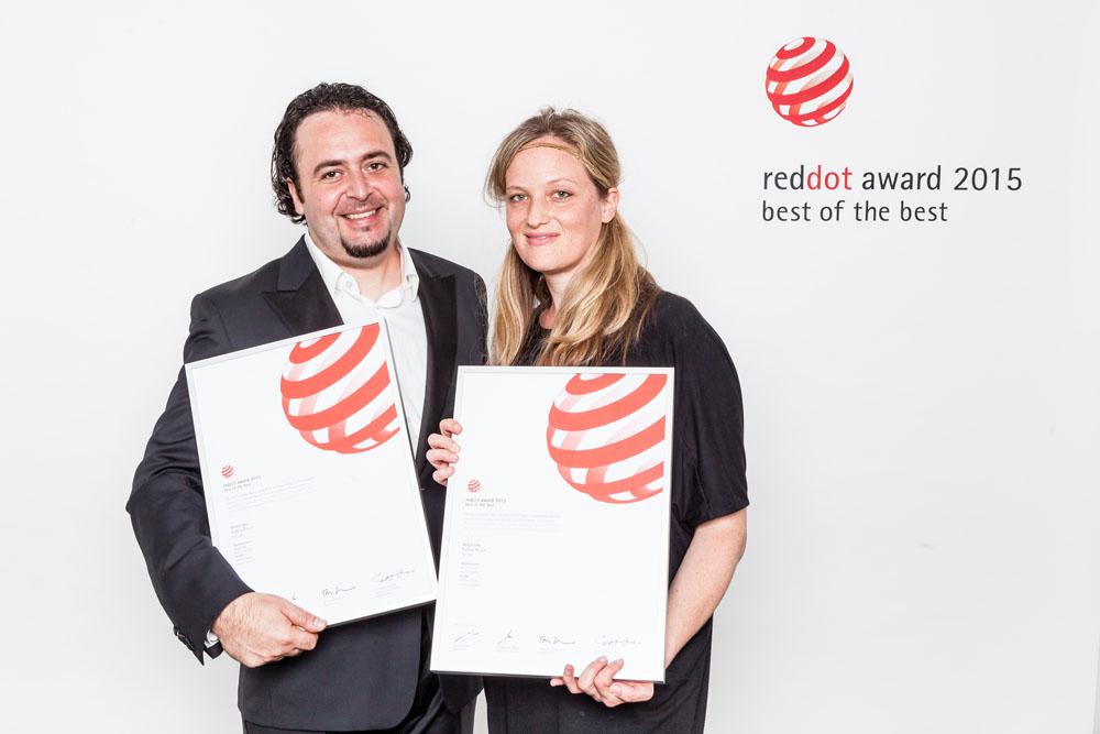 Red Dot Design Award 2015 für Radkompetenz-Mitglied VELLO!