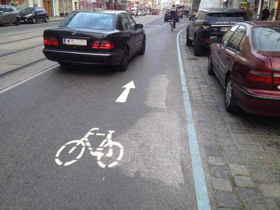 City of Vienna publishes positive sharrow-study