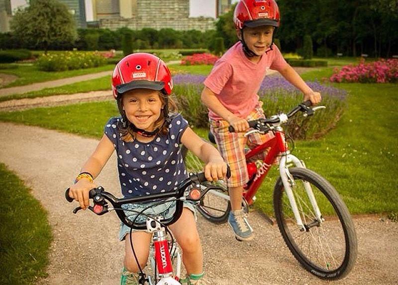 Gesundheitseffekte bei Kindern durch Radfahren