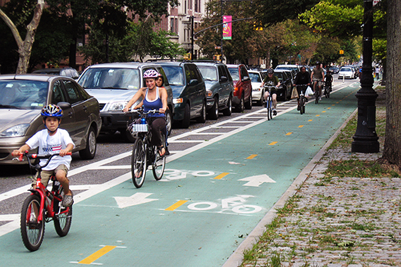 NYC: How cycle lanes can improve traffic safety
