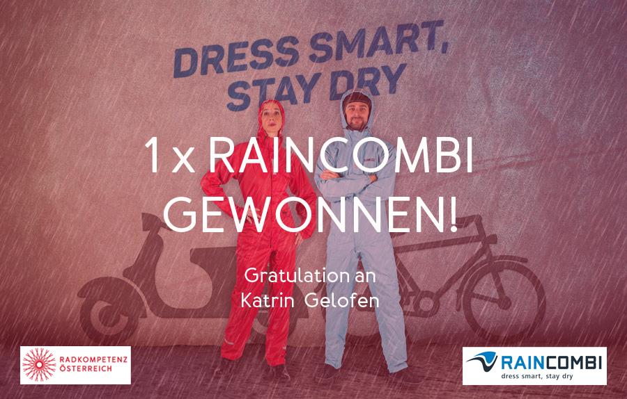 Jahresgewinnspiel-Gewinnerin: Raincombi verlost!