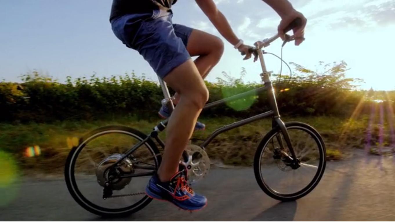 VELLO entwickelt erstes selbstaufladendes E-Faltrad