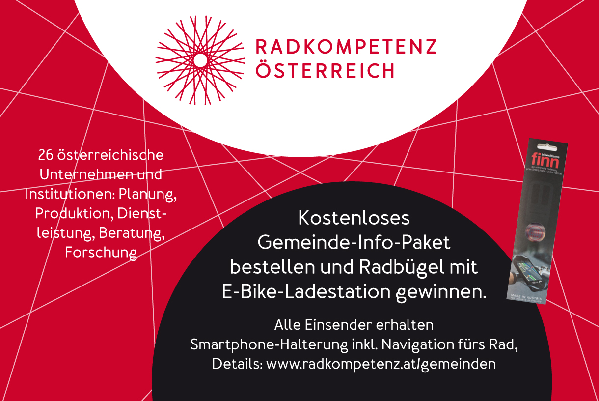 Österreichs Gemeinden gewinnen mit mehr Radverkehr