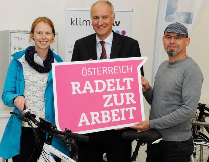 """Neuer Rekord bei Kampagne """"Österreich radelt zur Arbeit"""""""