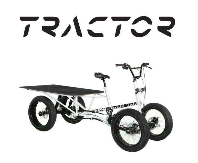 Neues Transportrad und Umfrage für Nutzungsstudie
