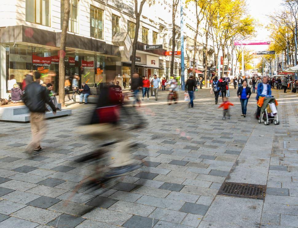 Coexistence in pedestrian zones