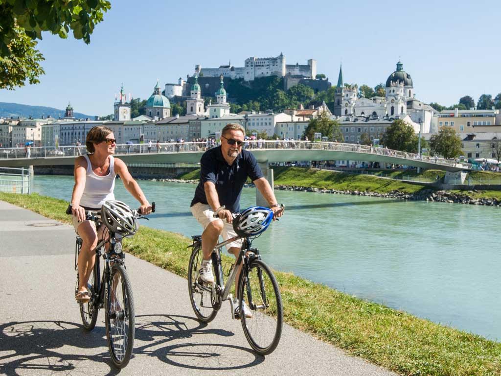 Stadt Salzburg entwickelt neues Radhauptnetz