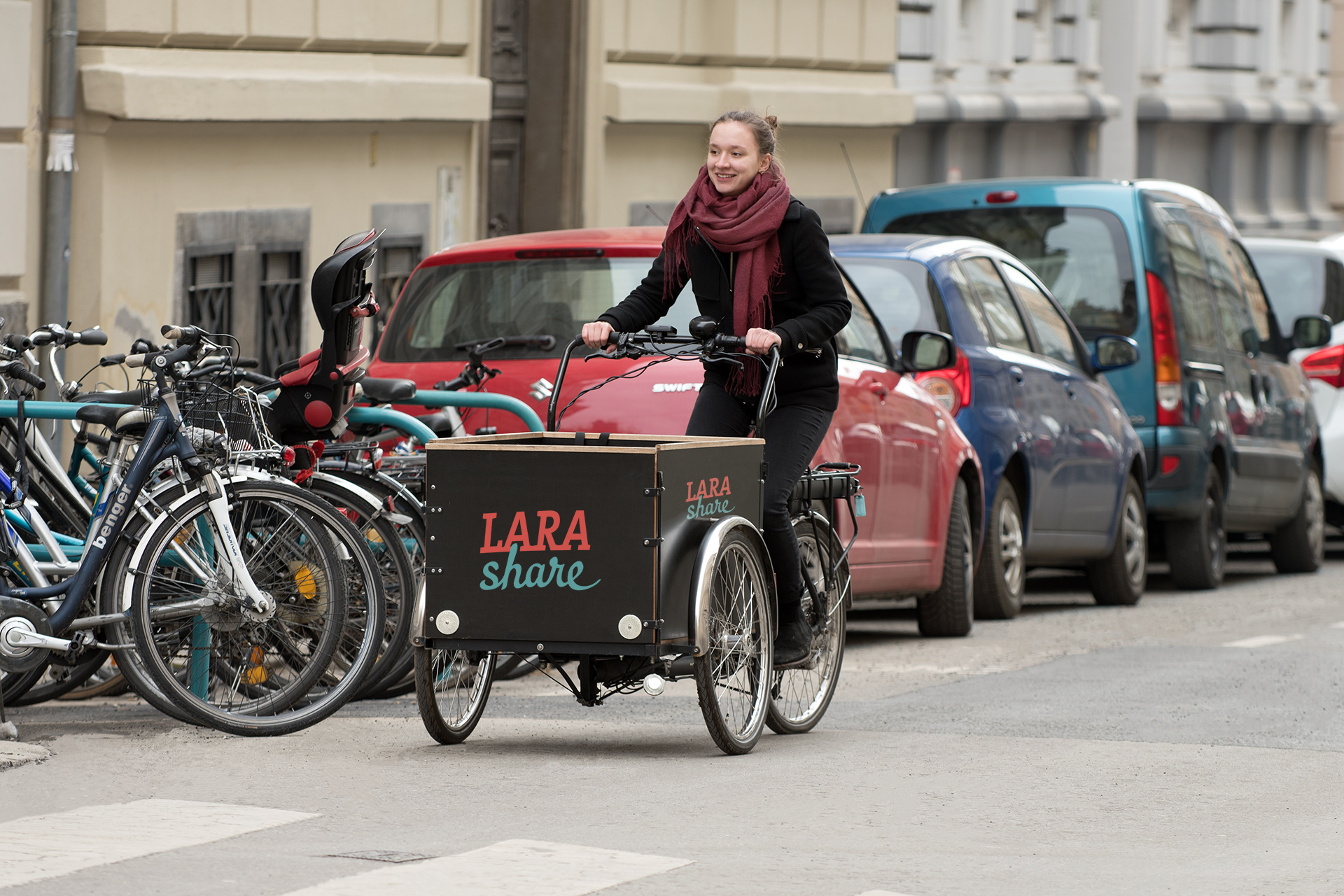 Cargo bike sharing in the trial phase