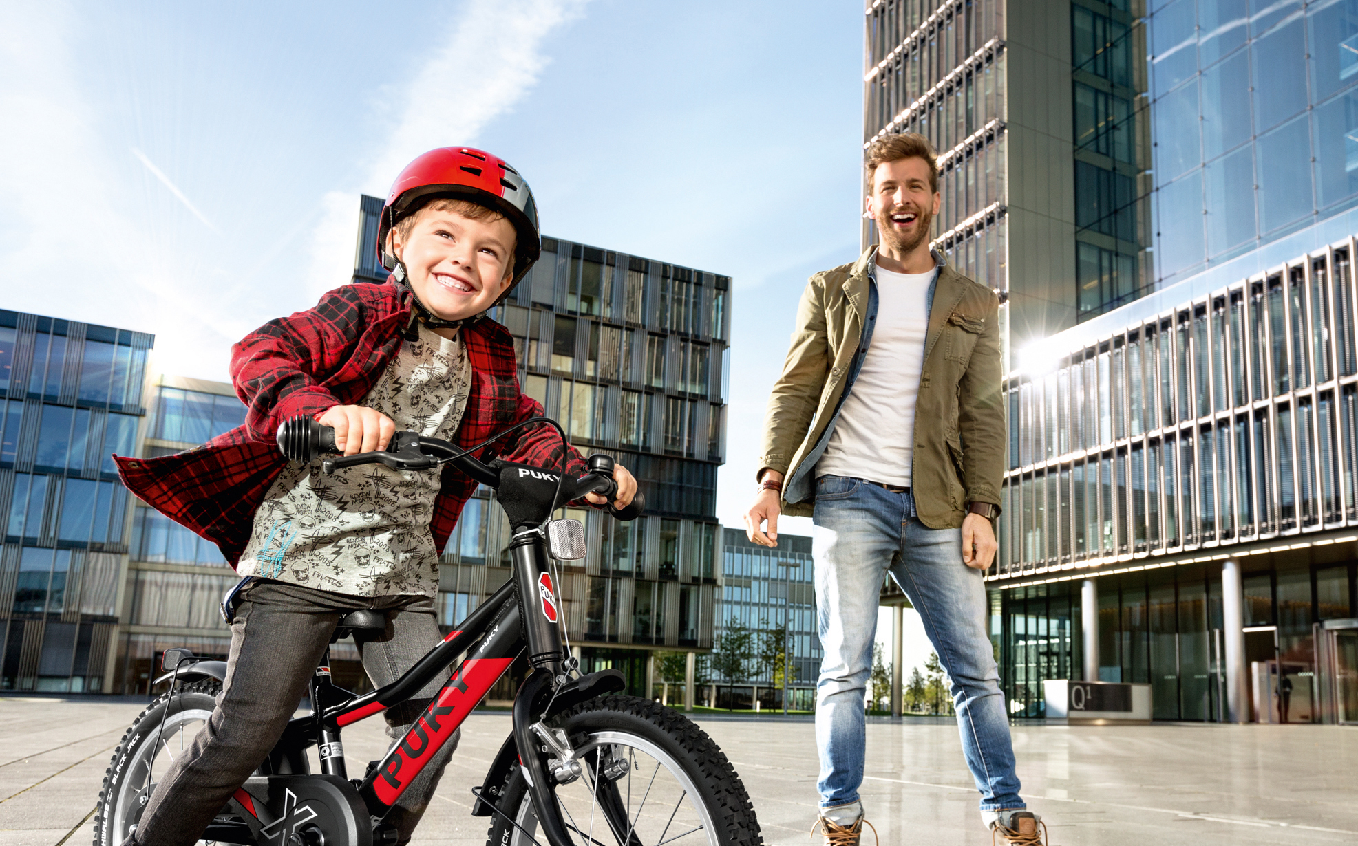 Multimodal mobility week with folding bike promotion