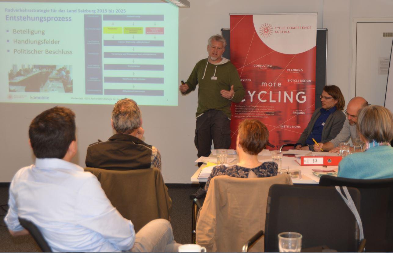 Die erste Radkompetenz-Masterclass: Salzburg 2019