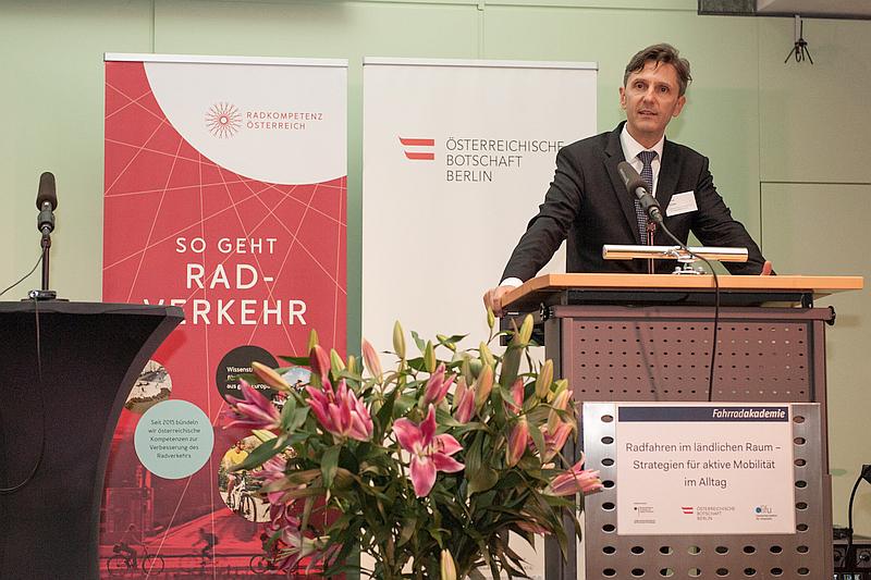 Radkompetenz in Berlin beim Parlamentarischen Abend