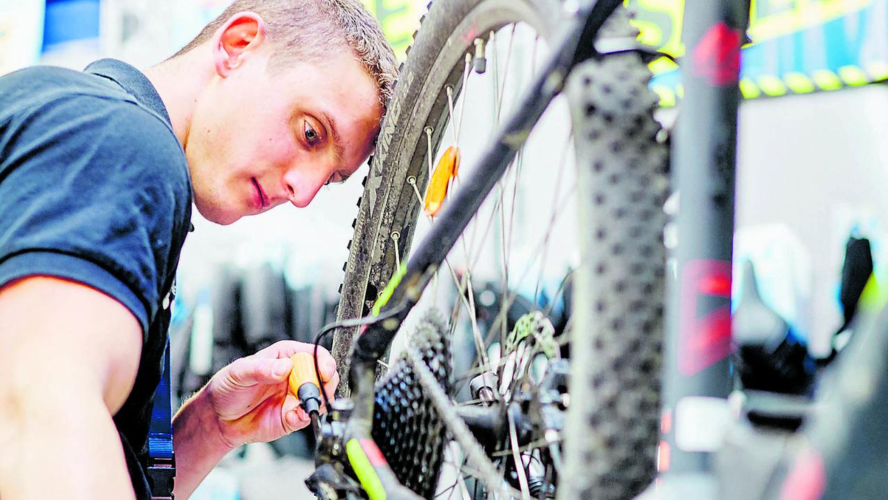 Der Virus hat den Radhandel befallen