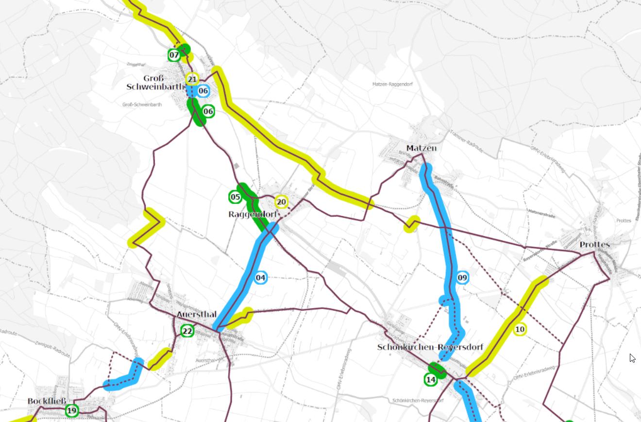 Neues aus Niederösterreich: Radschnellwege und Regionalkonzept