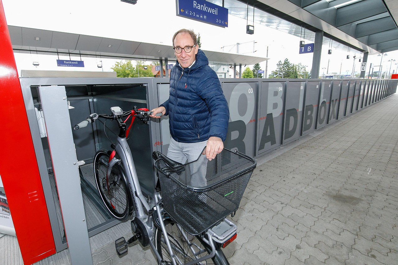 Vorarlbergs expansion of multimodality: VMOBIL stations opened