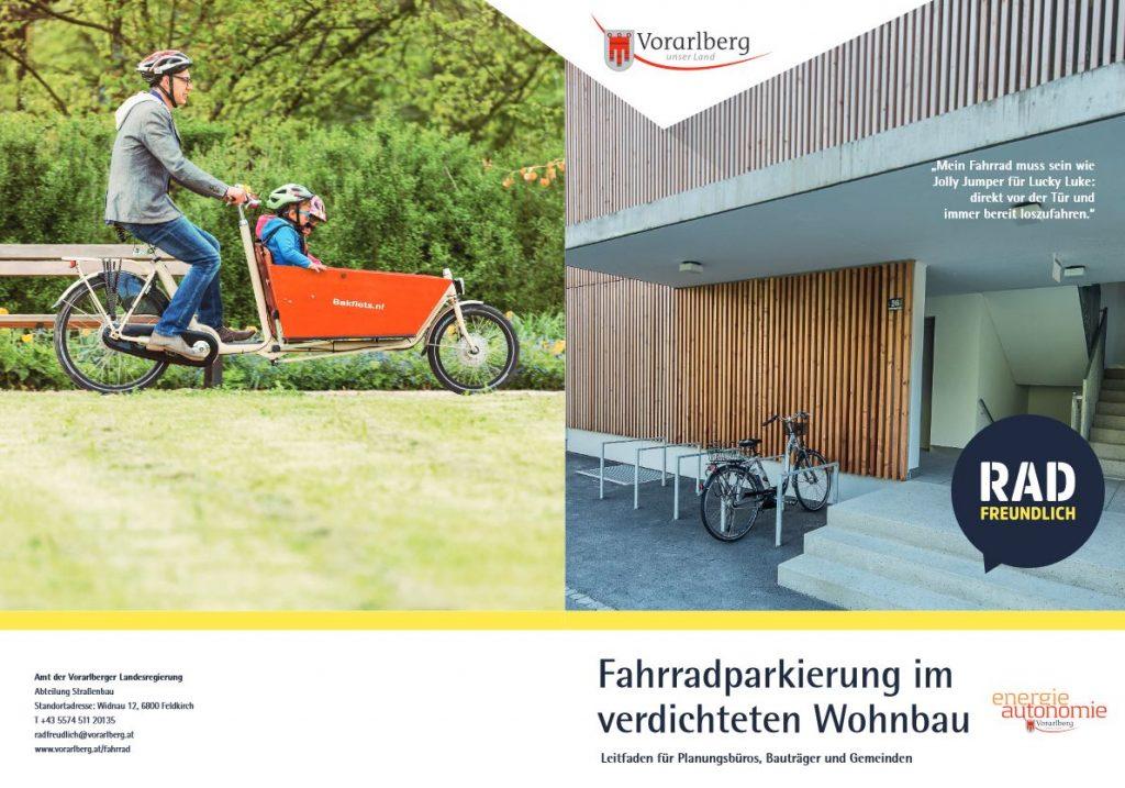 Neuer Leitfaden: Fahrradparken im verdichteten Wohnraum