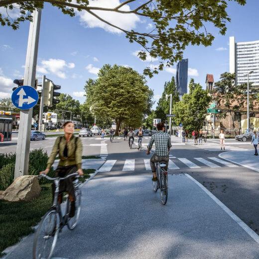Rendering Wagramer Straße