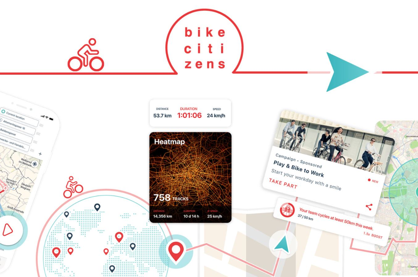 German Bicycle Award and the new Bike Citizens App