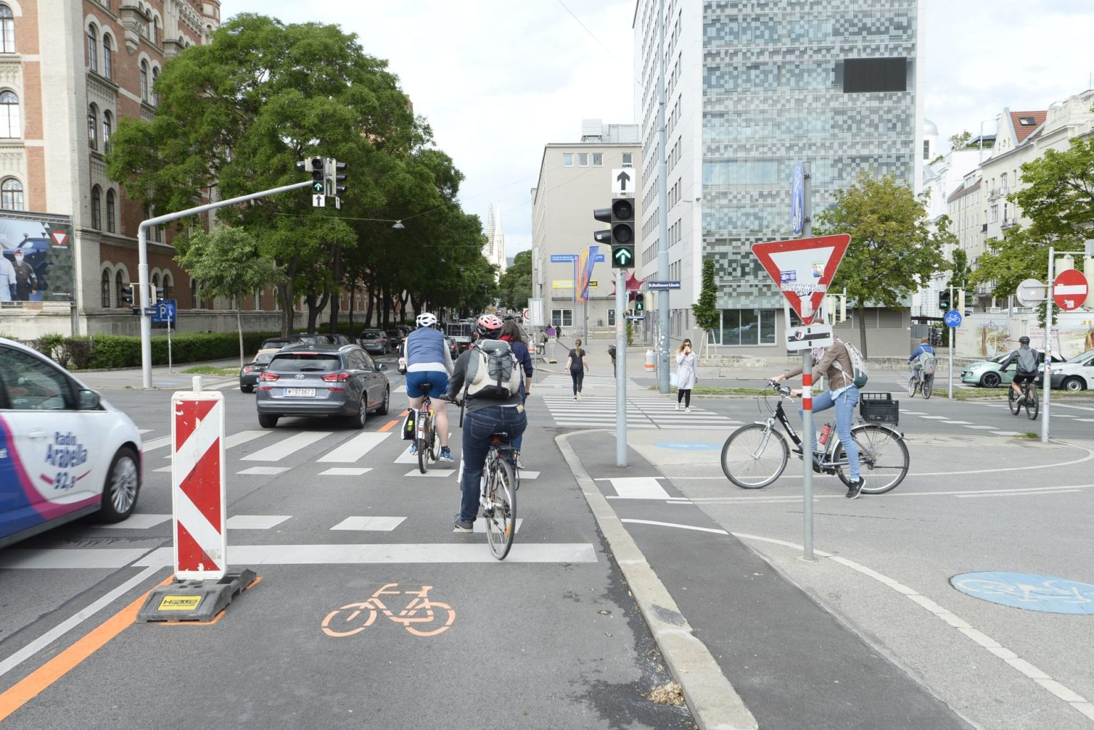 International Study confirms the positive effects of pop-up cycling infrastructure